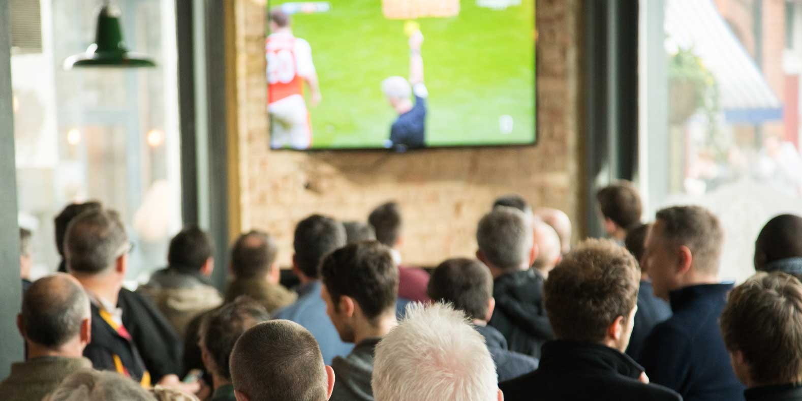Watch football at the Alex